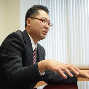 アタックス税理士法人 コンサルタント猪又庸平さん(2013年6月入社)
