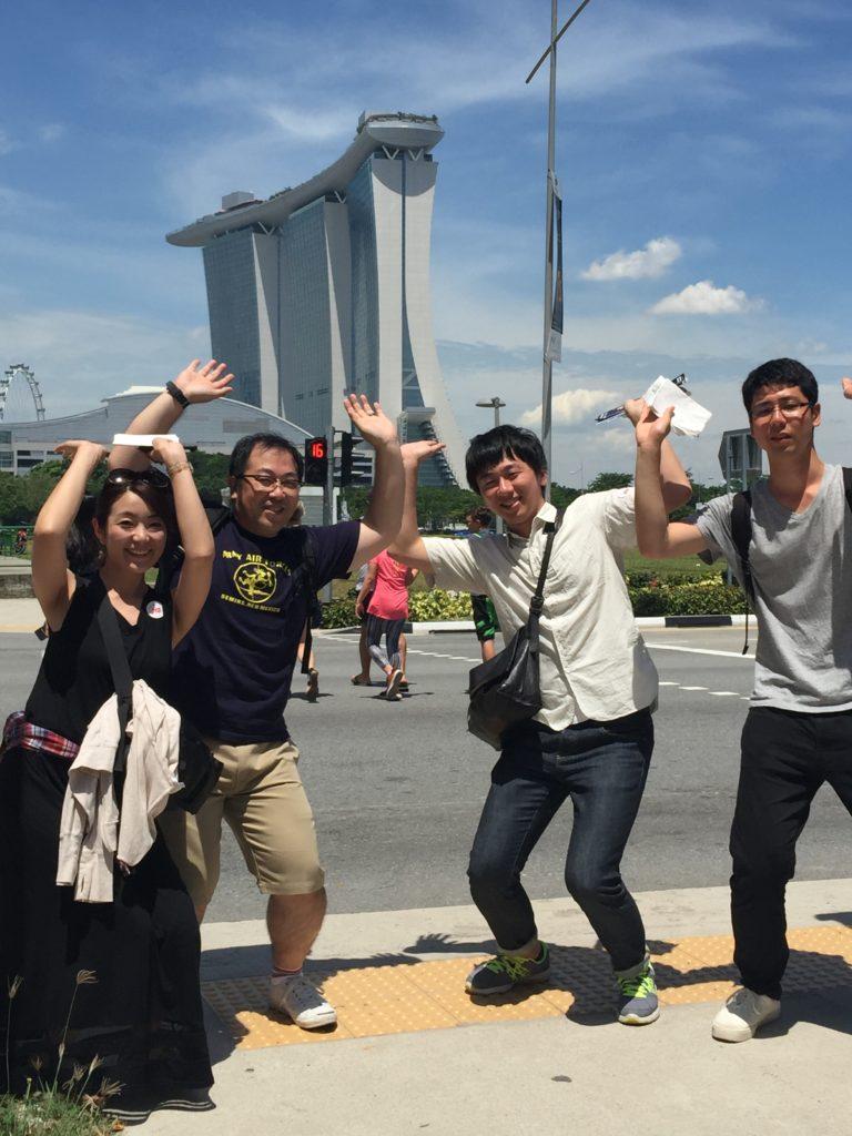 2016年10月 福利厚生旅行 inシンガポール