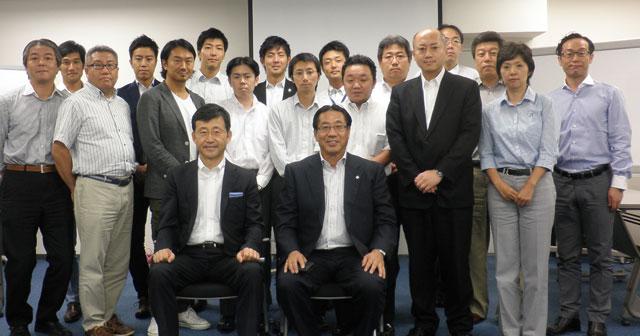 東邦レオ 橘社長を囲む2014年度東京クラス